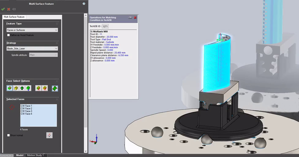 Graphical tools for part inspection programming